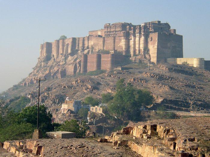 дворцы, замки, индия, форт, храм