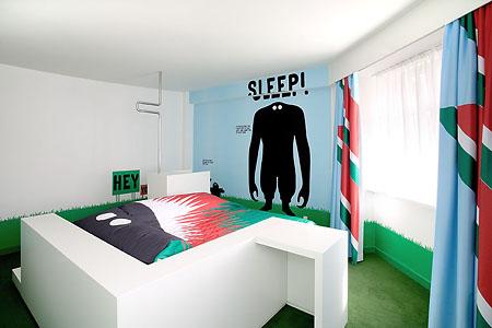 Отель был создан для раскрутки машин концерна и находится в центре Копенгагена