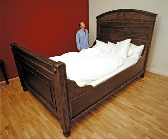 Мега-спальная кровать )