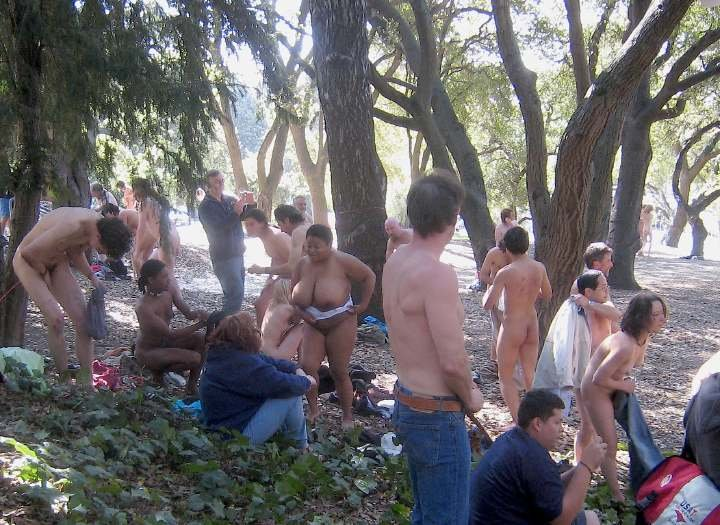 Naked protest berkeley