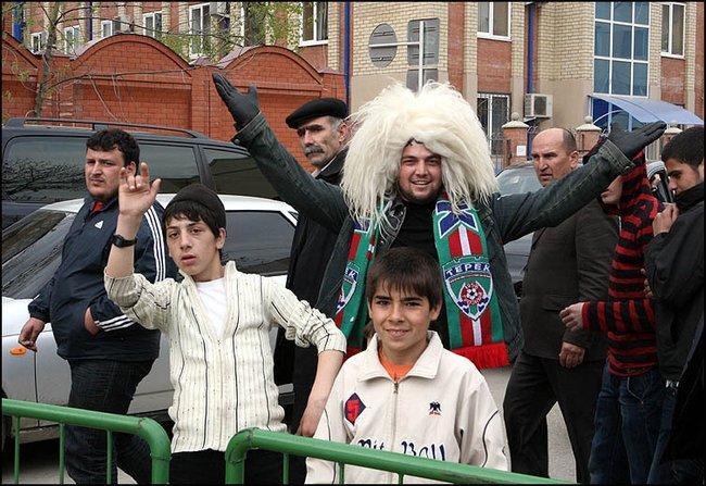 Апрель 2008, мирный Грозный, Чечня