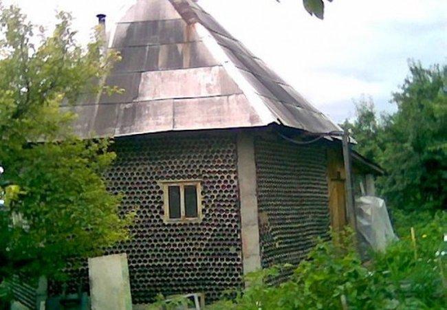 Къща от бутилки 002_glass