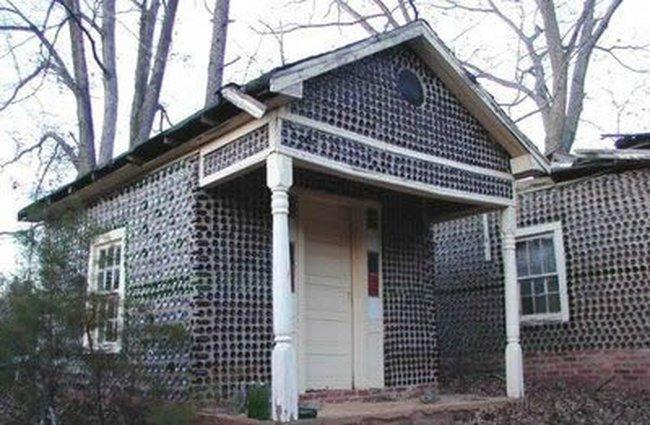 Къща от бутилки 003_glass