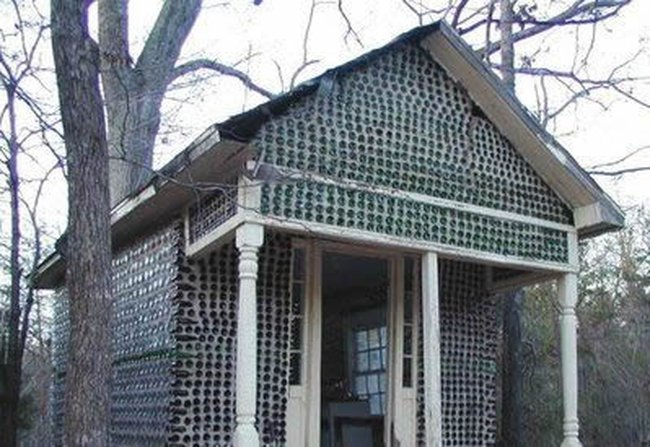 Къща от бутилки 006_glass