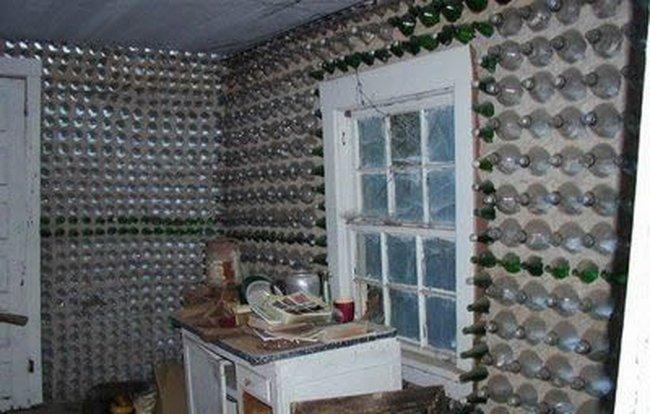 Къща от бутилки 007_glass