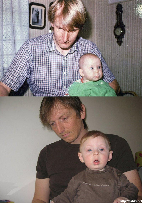 de niños a adultos (no famosos)