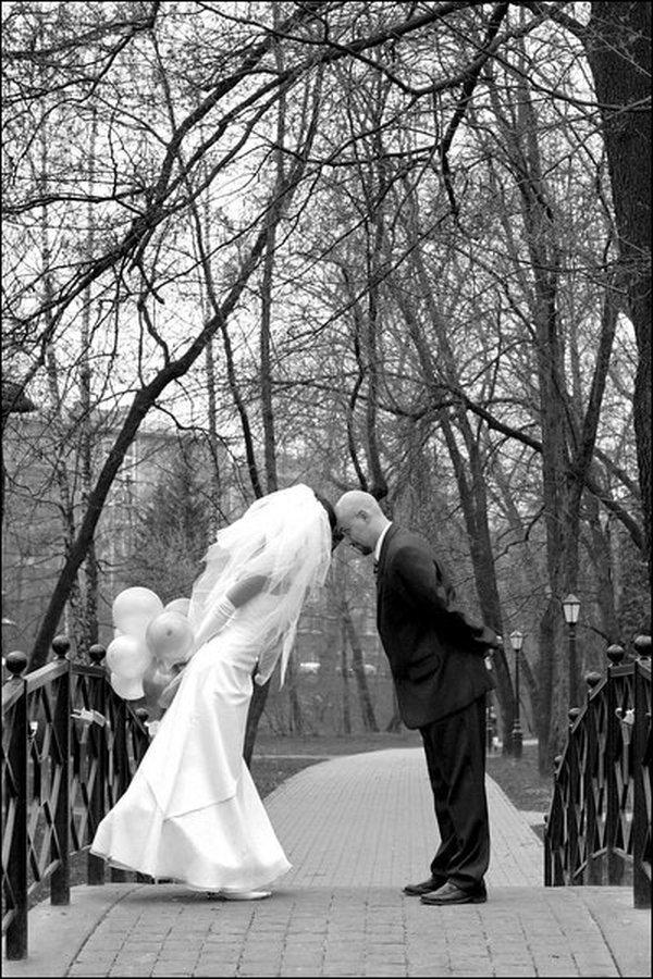 Обалденная свадебная фотосессия (18 фото)