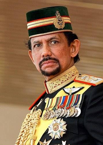 Haji Hassanal Bolkiah – Sultan of Brunei