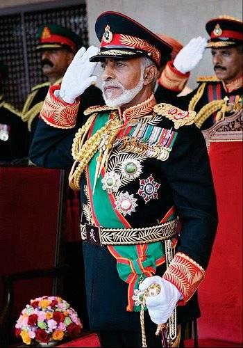 Qaboos Bin Said – Sultan of Oman