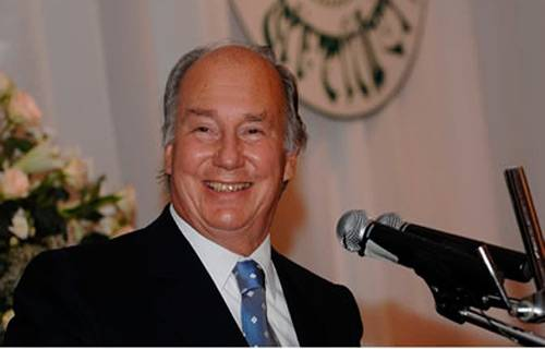Prince Karim Al Husseini Aga Khan – leader of 15 million Ismaili Muslims