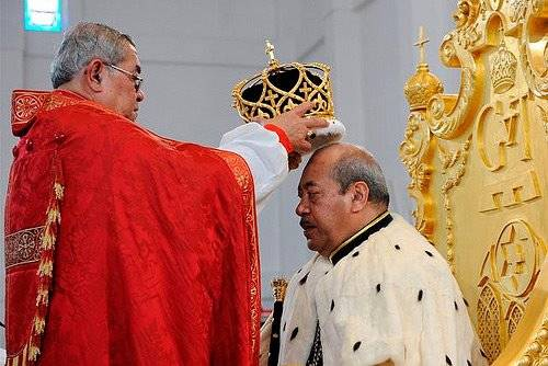 George Tupou V – The king of Tonga
