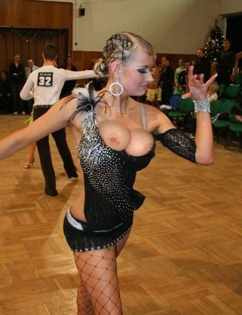 Голые в бальных танцах #7