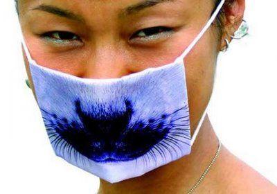 Веселая защита от гриппа (9 фото)
