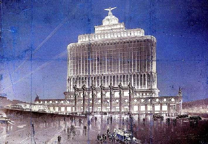 Дом Аэрофлота (Д. Чечулин., 1934)