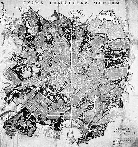 Невоплощённые проекты Москвы (37 фото)