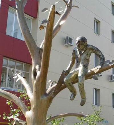 Памятник распиливающему-2