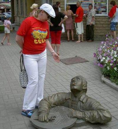Памятник слесарю-2