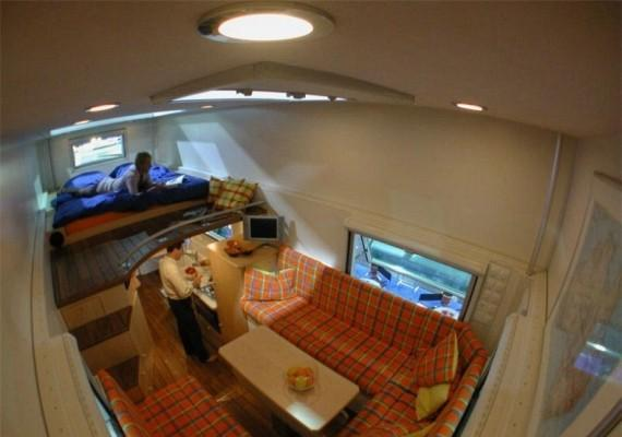 Современные дома на колесах (50 фото)