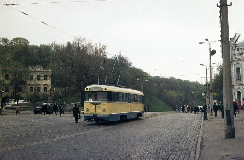 Та же площадь, 1970 год