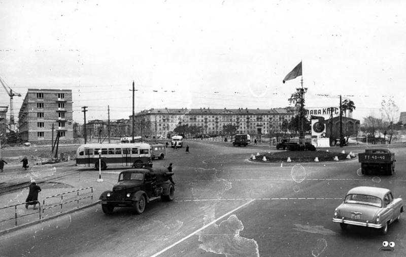Ленинградская площадь, ноябрь 1958 года