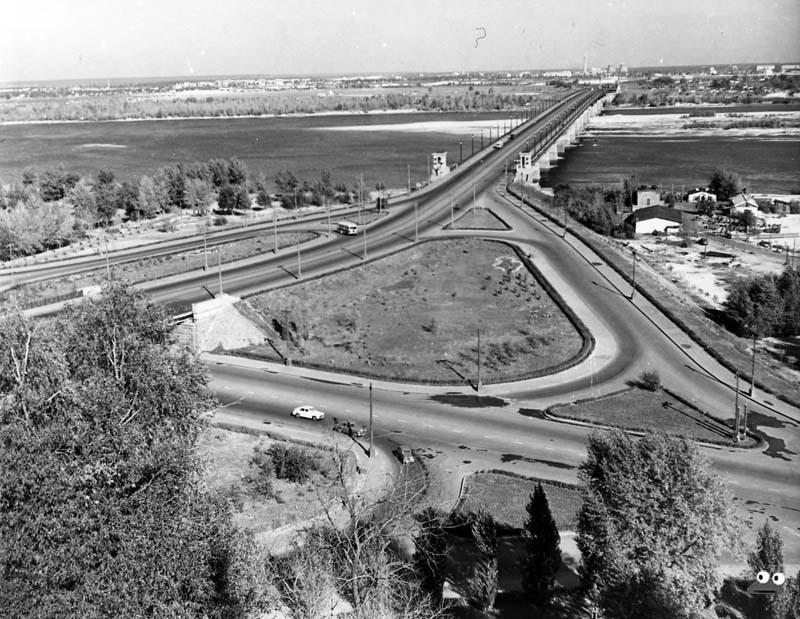 Мост Патона, 1959 год