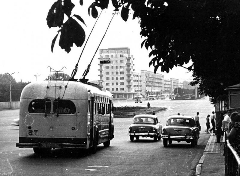 Площадь Победы, 1961 год