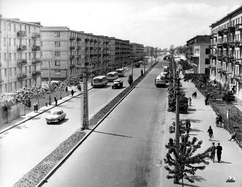 Проспект Мира, 1963 год