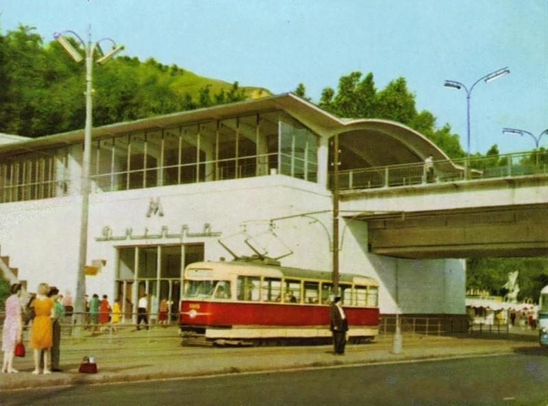 Станция метро Днепр, 1965 год