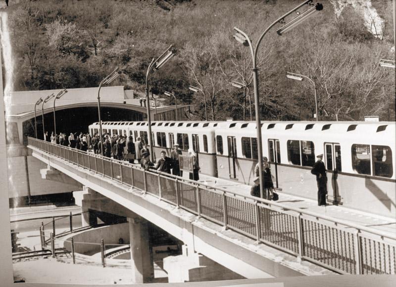 Станция метро Днепр, 1960 год