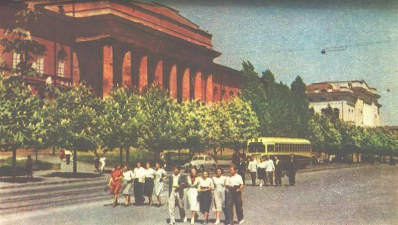 Университет Шевченко и студенческая молодежь, 1957 год