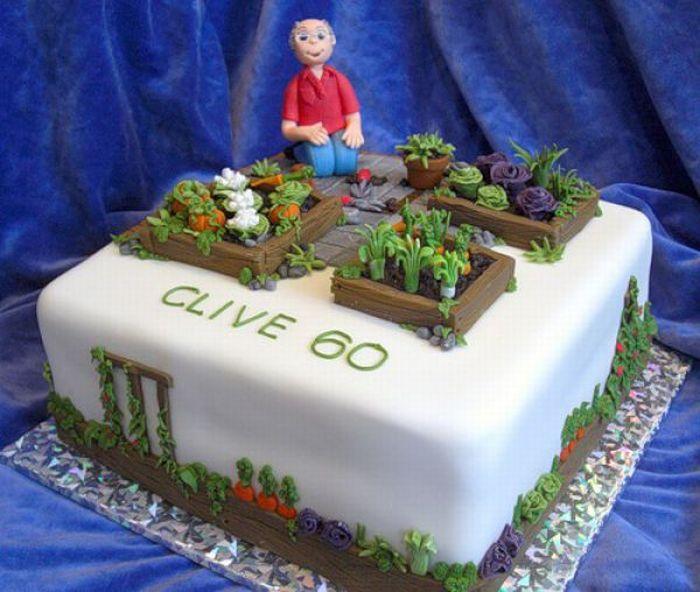 Торты получай день-деньской рождения (42 фото)