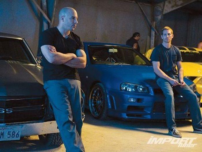 Машины из фильма форсаж фото