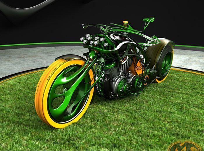 Концептуальные мотоциклы (29 фото)