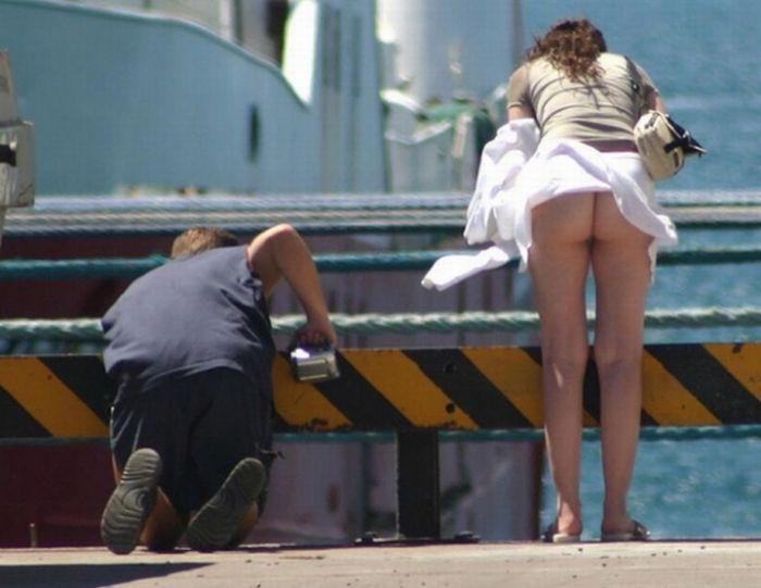 Секс людей на улице смотреть чулка