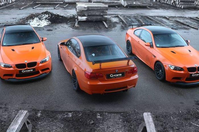 В G-Power затюнили уже заряженную BMW M3 GTS (10 фото+видео)