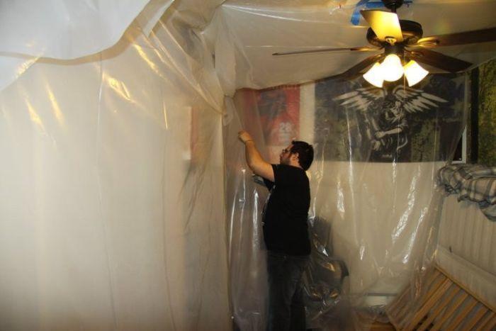 Как сделать комнату маньяка (14 фото)