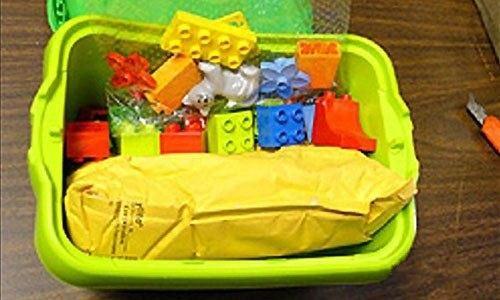 3. Не брезгуют так же общеизвестным LEGO. В этом ящике, между камнями любимого детского конструктора, был обнаружен запаянный пакет с кокаином.