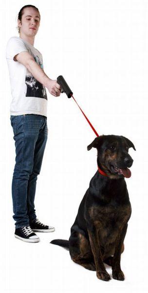 Оригинальный «поводокус» для собак (3 фото)