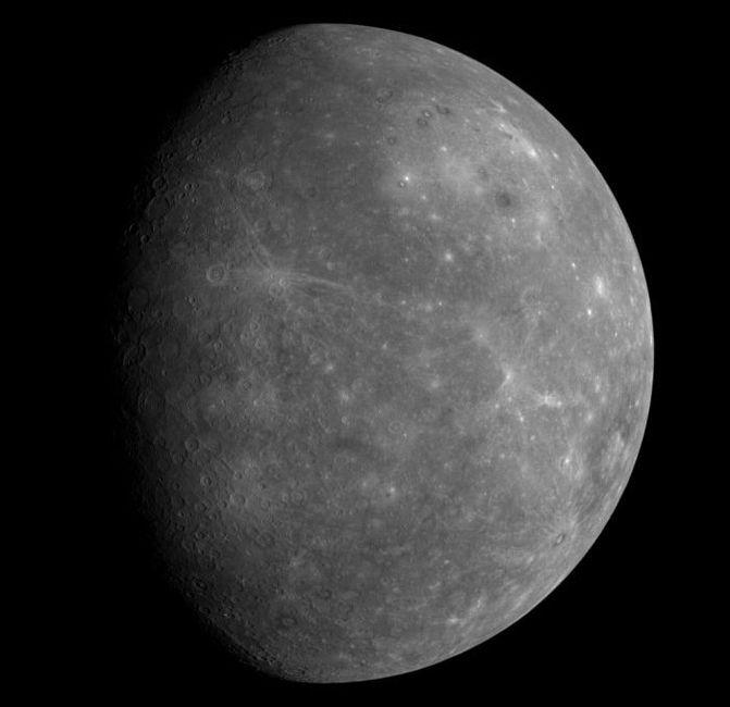 Первые фото Меркурия с космического аппарата Messenger (8 фото)
