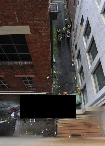 Высотная женская парковка в переулках (2 фото+видео)