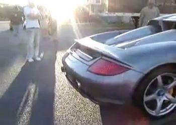 Как не стоит загонять Porsche Carrera GT