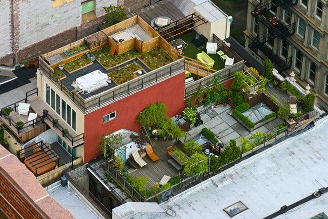 Крыши Нью-Йорка (13 фото)