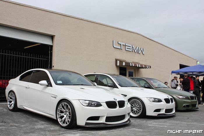 Слет владельцев непростых BMW в Калифорнии (75 фото)