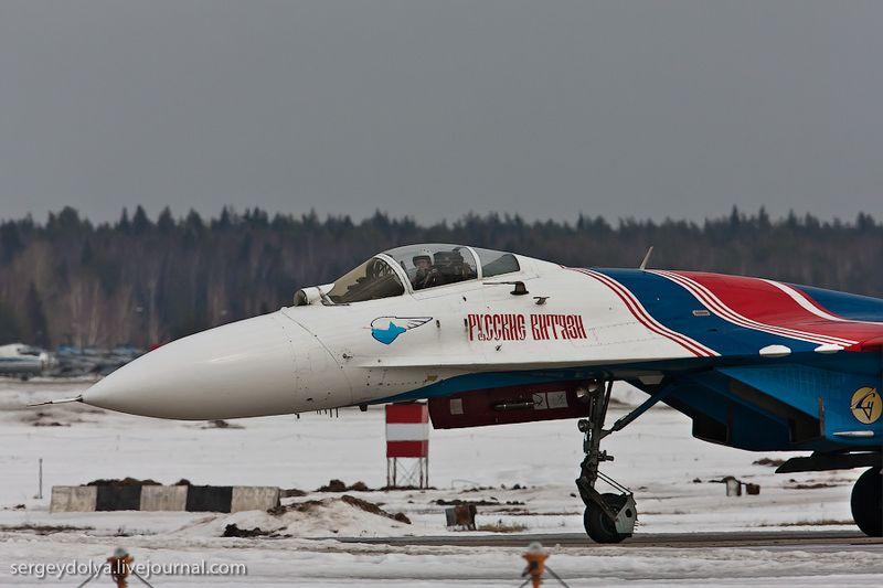 Показательные выступления Русских Витязей и Стрижей (32 фото)