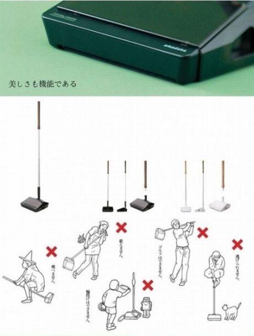 Как не нужно поступать с японской техникой (6 фото)
