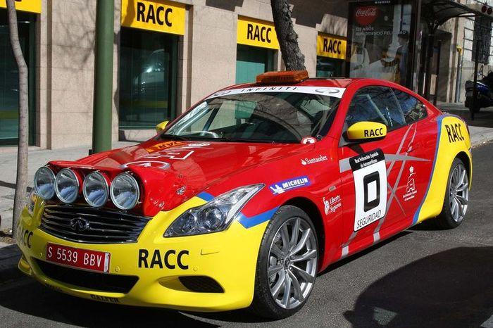 Infiniti G37 Coupe получил новое имя Car Zero для ралли! (6 фото)