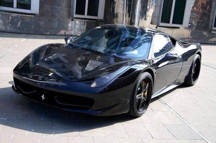 Anderson Germany представили Ferrari 458 Italia Black Carbon Edition (15 фото)