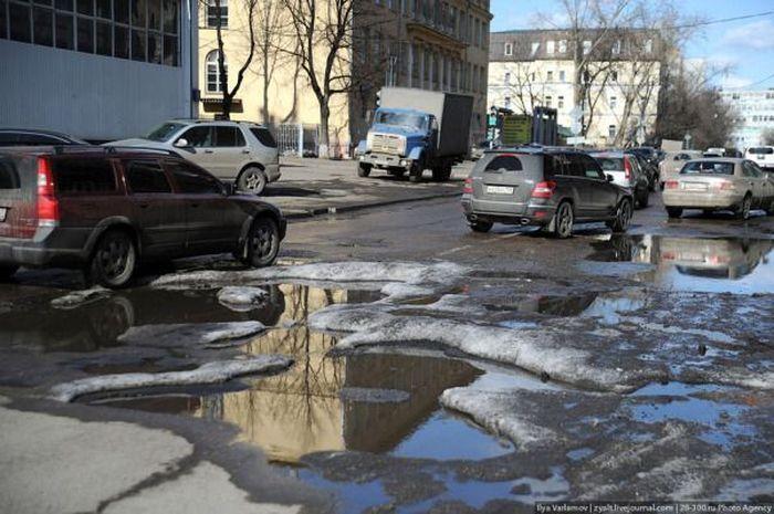 Строительство Новой дороги (39 фото)