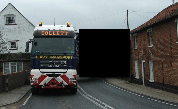 Перевозка негабаритных грузов (3 фото)