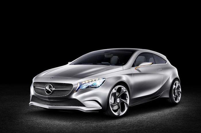 Mercedes-Benz покажет новый A-класс в Шанхае (24 фото+2 видео)